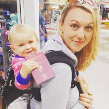 traveling with a baby images 1 year old has been travelling around the world since she was born jpg