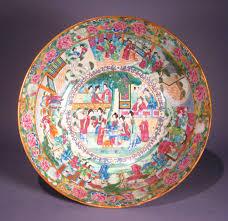 mandarin porcelain mandarin punch bowl with continuous dubey s