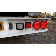 led lights for trucks and trailers hamburger round led rear tail light combination trailer html