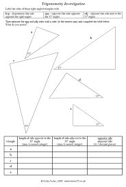 trigonometry in right angled triangles miss brookes maths