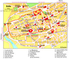 Spain Cities Map by 10 Top Rated Tourist Attractions In Avila Planetware