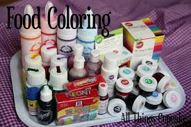 all things cupcake indonesia my food coloring collection