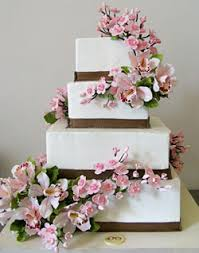 pictures of wedding cakes with orchids u2013 wedding photo blog memories