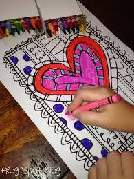frog spot free valentine u0027s coloring page valentine u0027s day