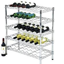 wine rack wall mounted chrome wine glass rack chrome storage or