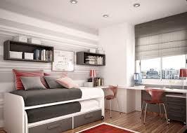 bedroom decorating black varnished wooden bed nightstand metal
