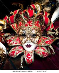 venetian carnival mask colorful venetian carnival masks sale stock photo 130992368