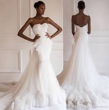 2015 nigerian mermaid wedding dress sweetheart lace sheer tulle