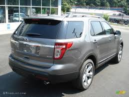 Ford Explorer 2014 - sterling gray metallic 2013 ford explorer limited 4wd exterior