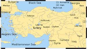 Turkey Greece Map by List Of Rivers Of Turkey Wikipedia