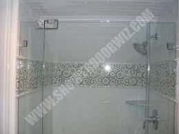 shower tile border showers decoration tile work for your shower shower door wiz another