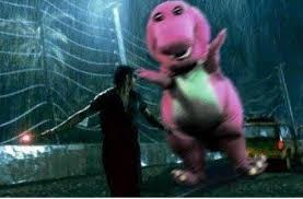 image barney dinosaur jurassic park jpg barney bunch wiki