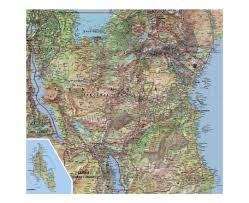Map Of Zambia Maps Of Tanzania Detailed Map Of Tanzania In English Tourist