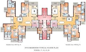 five bedroom typical floor plan house building ward log homes
