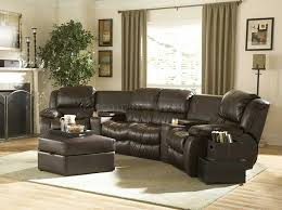 fantastic leather reclining sectional sofa sectional sofas