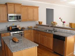Maple Cabinet Kitchen Ideas Maple Cabinets With Grey Countertops Google Search Kitchen