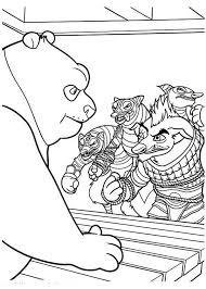 po attacked kung fu panda coloring download u0026 print
