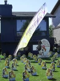 Birthday Lawn Decorations Buzzard Sign Add3 Copy Jpg
