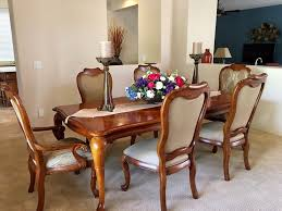 thomasville dining room sets thomasville british gentry dining room table set with 6 chairs ebay