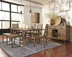 buy dondie rectangular dining room table by signature design from