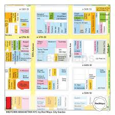 Map Of Midtown Manhattan Maps Of Usa Going In Style