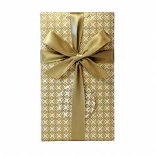 wrapped gift box wrapped gift set dandelion chocolate