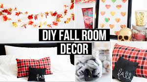 Diy Bedroom Decor by Diy Fall Room Decor Affordable U0026 Cozy Laurdiy Youtube