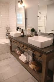 single sink console vanity bathroom magnificent bathroom remodel restoration hardware hack