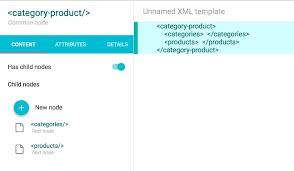 creating xml template from scratch datakick