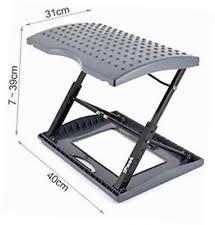 Under The Desk Foot Rest by Adjustable Footrest For Home Office Or Under Desk Ergonomic