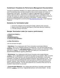 Termination Of Employment Letter To Employee by Employment Termination Letters 10 Free Word Pdf Excel Format