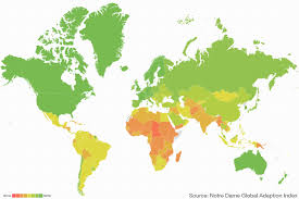World Climate Map by How Conflict Increases Countries U0027 Climate Change Risk World