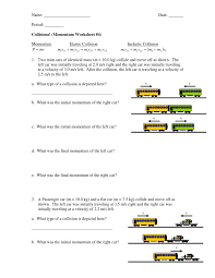 momentum worksheet 4 momentum worksheet 4 and momentum worksheet