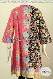 desain baju batik halus baju dress bahan batik solo proses printing busana batik halus