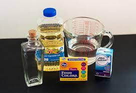how do you make a homemade lava l diy magic potion bottles