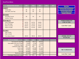 financial business plan templates excel small business financial