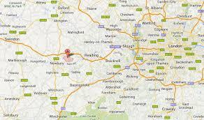berkshire england map london map