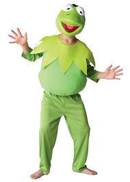 frog halloween costume kids deluxe officially licensed the muppets kermit the frog