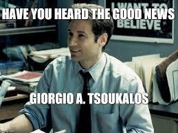 Tsoukalos Meme Generator - mulder imgflip