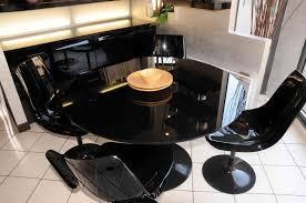 table ronde et chaises vend ensemble table ronde verre laqué 4 chaise grossiste en