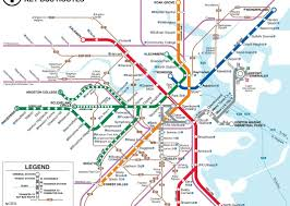 Subway Map Boston by Brenna Cass Un Semestre En Santiago