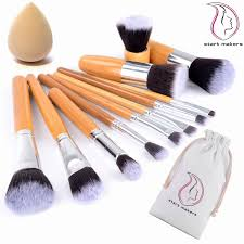 beauty products brushes