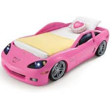 barbie corvette buy step2 corvette toddler to twin bed with lights pink in dubai