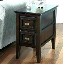 dark wood accent tables small wood end table collection in tall accent table modern wood