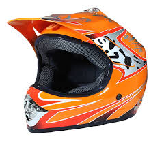 childs motocross helmet children motocross crash helmet orange kids off road bmx dirt bike