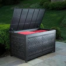 outdoor wicker patio cushion storage patio design ideas 1174
