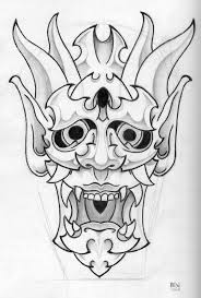 best 25 hannya mask tattoo ideas on pinterest oni tattoo oni