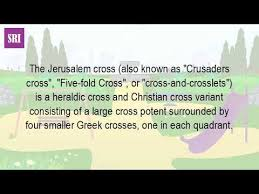 what is the meaning of the jerusalem cross