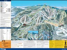New York Ski Resorts Map by Ski Resort Ski Resorts In Vermont And York