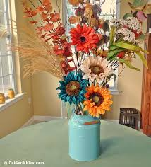 Fall Floral Arrangements How To Update Your Fall Floral Arrangements